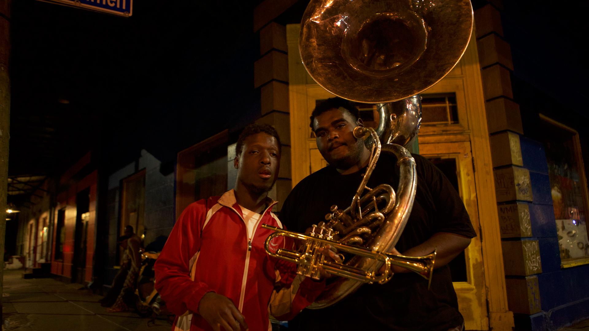 Musicisti di strada, New Orleans 2015