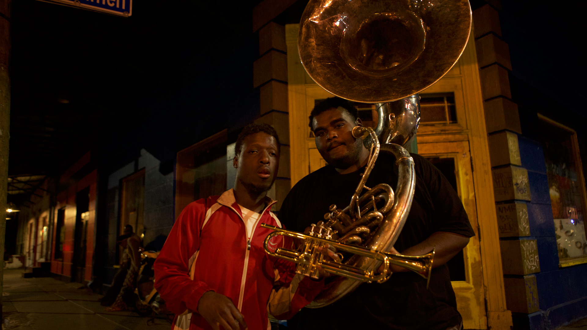 Buskers, New Orleans 2015